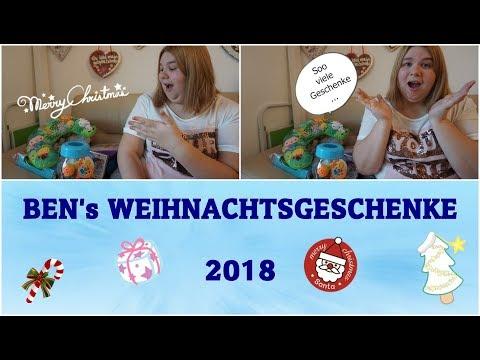 BENS WEIHNACHTSGESCHENKE 2018