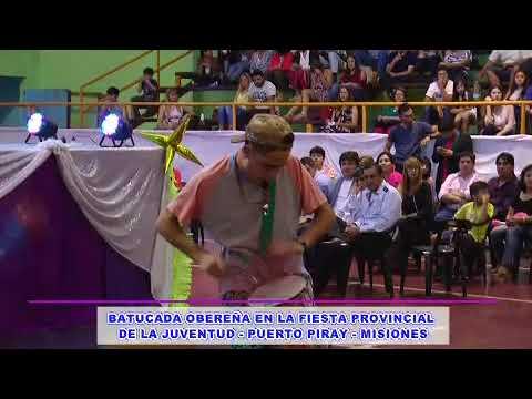 BATUCADA OBEREÑA EN LA FIESTA PROVINCIAL DE LA JUVENTUD