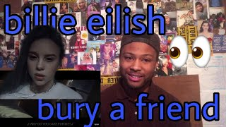 Billie Eilish - bury a friend   Reaction