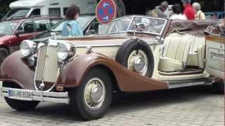 preview picture of video 'Horch Oldtimer in Wasserburg am Inn am 02.06.2012.MTS'