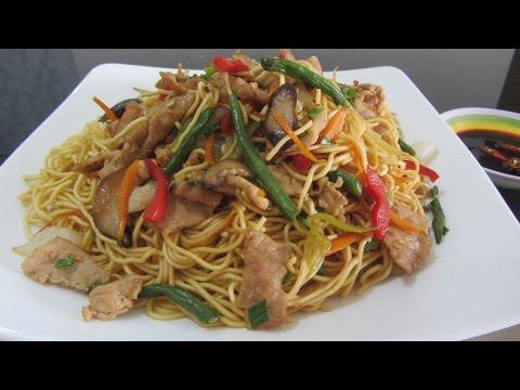 ОБЕД ЗА 20 МИНУТ Жареная лапша со свининой и овощами по-китайски жареная лапша по-вьетнамски