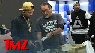 Tyga -- Sneaker Release Party RUINED By Sneaky Process Server | TMZ
