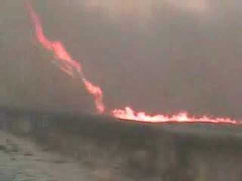 Fire Tornadoesالزوبعة النارية (من اغرب الظواهر الطبيعية)