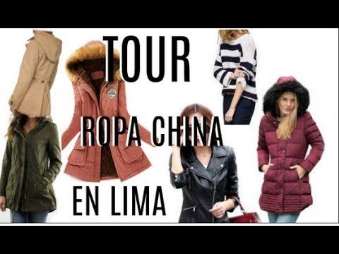 TOUR  DE ROPA CHINA EN LIMA con precios 2018  Parkas +casacas+ abrigos+ chompas l Thany Tips