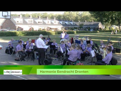 Openluchtconcert Harmonie Eendracht