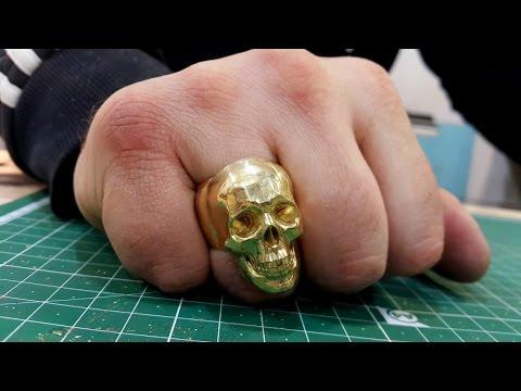 Mirock Skull Ring