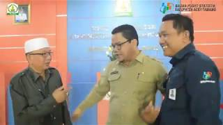 Testimoni Kepala Disdukcapil Aceh Tamiang tentang sensus Penduduk 2020