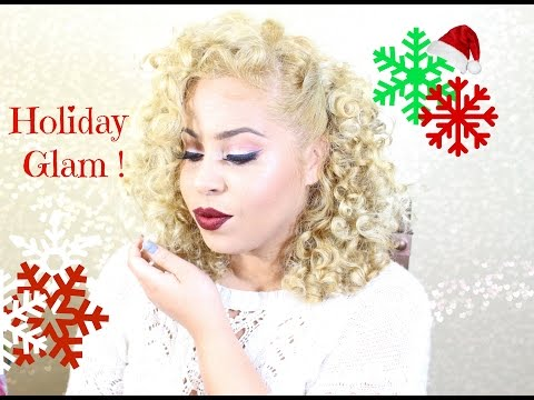 Holiday Glam Ft. Morphe 35o Palette