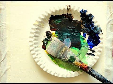 Acrylmalerei , Acrylic Painting, Basic Tipp 2