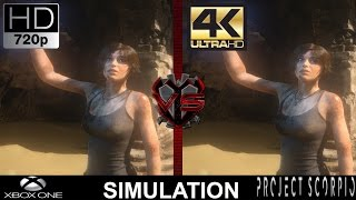 720P VS 4K Gaming   Xbox One VS Project Scorpio Simulation   GTX 1080   i7 5960X 4.5GHz