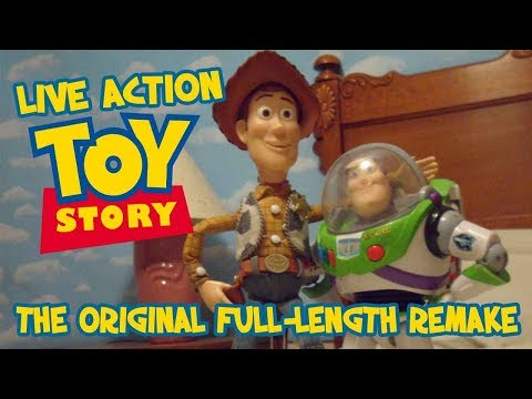 They Really Did It! Toy Story — The FULL MOVIE — Filmed With Real Live Toys