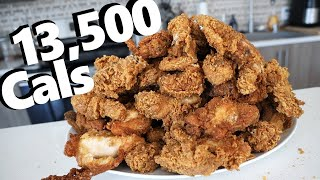 Mountain of Extra Crispy Fried Chicken Challenge (13,500 Calories) thumbnail