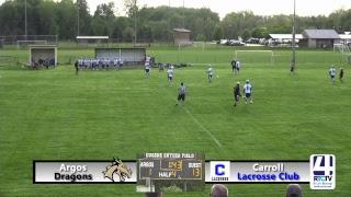 Argos Lacrosse vs Carroll Lacrosse Club