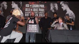 *LEAKED* KSI VS. LOGAN PAUL UK PRESS CONFERENCE!