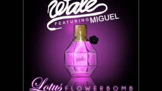 Lotus flower bomb miguel wale ft miguel lotus flower bomb clean mightylinksfo
