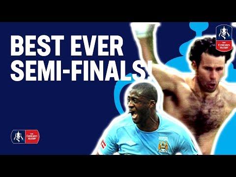 BEST EVER FA Cup Semi-Finals! | Man Utd, Man City, Arsenal & more | Emirates FA Cup 18/19