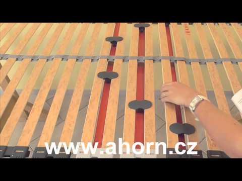 Video Ahorn Lamelový rošt Primaflex HN Rozměr: 80 x 200 cm 2