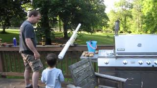 Backyard Ballistics - The Potato Cannon