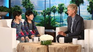 Zony and Yony Catch Up with Ellen