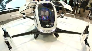 See the jumbo drone that carries humans