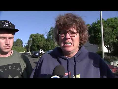 Grieving California mother demands 'gun control'