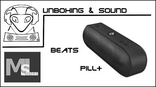 Beats Pill+ Unboxing & erster Klangeindruck / first sound impression (deutsch)
