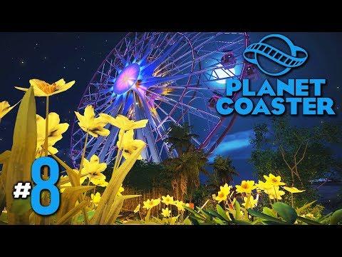 หมู่บ้านป่าไผ่ แสงไฟเฉิดฉาย - Planet Coaster #8(มีต่ออ)