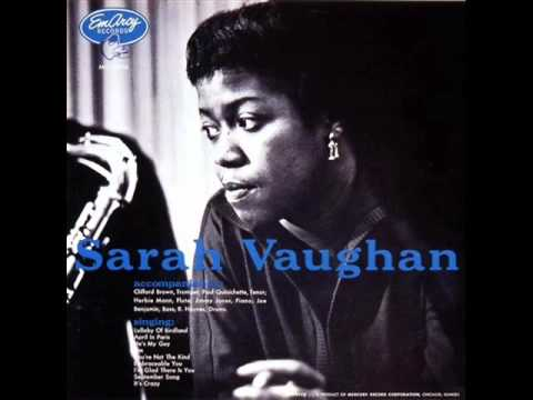 Sarah Vaughan with Clifford Brown Sextet - He's My Guy