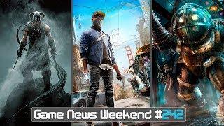 Игровые Новости — Game News Weekend #242   (Watch Dogs 3, BioShock 3, TES 6 быть, Spider Man)