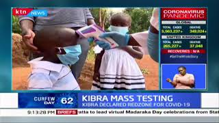 Low turnout for mass testing in Kibra, an area seen by the government as a red zone