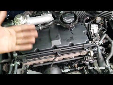 Фото к видео: Как определить дизель троит, или это вибрация маховика? VW Golf IV 1.9d, AJM