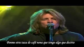 Bon Jovi - Lie To me (Subtitulado)