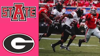 Arkansas State vs #3 Georgia Highlights | NCAAF Week 3 | College Football Highlights