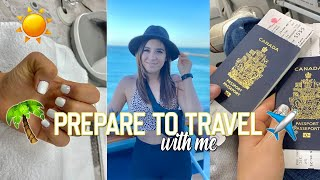 GRWM FOR MY CRUISE VACATION | Nails, Errands, Packing Vlog
