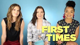 Le cast nous parle de leur première fois