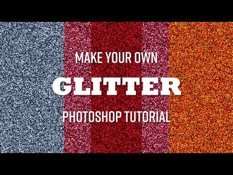 How To Create Glitter With Photoshop Howtoshtab How To