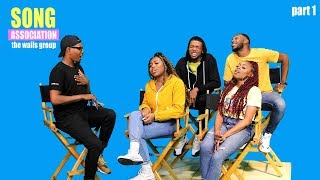 THE WALLS GROUP sings Keyshia Cole, TLC, and Tye Tribbett   SONG ASSOCIATION, pt. 1