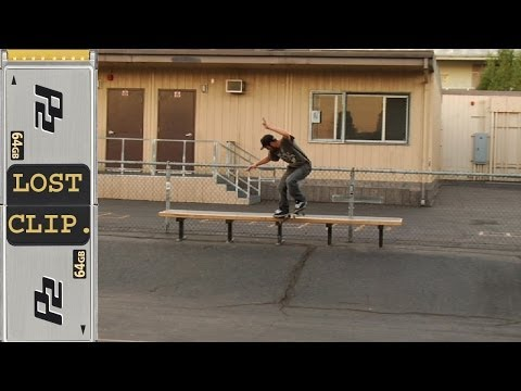 Zered Bassett Lost Skateboarding Clip #23 7th Street San Pedro