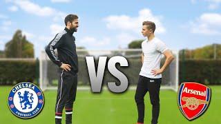 ARSENAL v CHELSEA Football Challenge ft. Cesc Fabregas