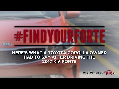 2017 Kia Forte Test Drive: Here's What One Toyota Corolla Owner Said - Sponsored by Kia