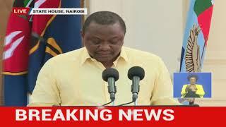 BREAKING: Nairobi Metropolitan Area now under 21-day containment - President Uhuru