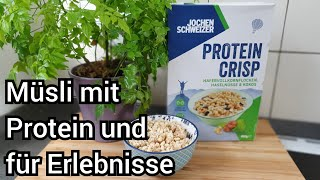Jochen Schweizer Protein Crisp Müsli | Für Erlebnisse! | FoodLoaf