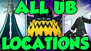All Ultra Beast Locations In Pokemon Sun and Moon - Catching Every Ultra Beast in Sun and Moon