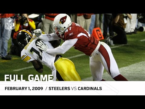 ff17fd2cf84 Super Bowl XLIII: Pittsburgh Steelers vs. Arizona Cardinals | NFL Full Game