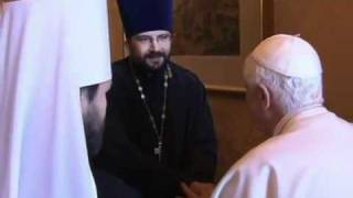 Representative of Moscow's Patriarch meets with pope