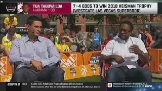Tua Tagovailoa will win the Heisman Trophy