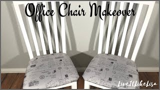 FURNITURE MAKEOVER: French Country Chairs