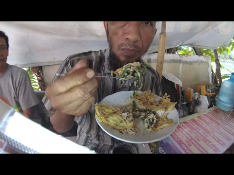 Jakarta Street Food 1198 Part.2 Kediri Vegetables Salad Rice Nasi Pecel Kediri 1198