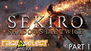 Sekiro: Shadows Die Twice - The Dojo (Let's Play) - Part 1
