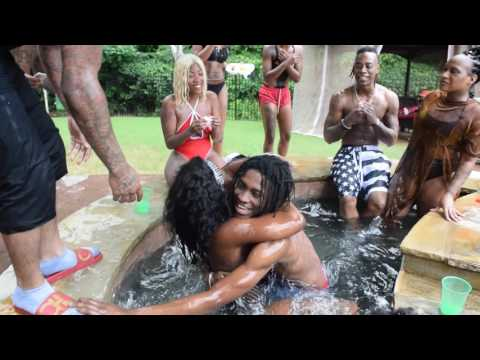 Trouble pool party gone wild